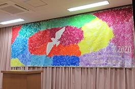 アートフェス作品展示(幼稚園)