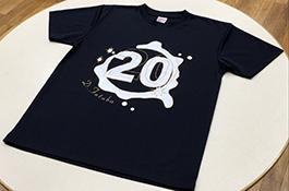 「2020年が明るくなるTシャツ」
